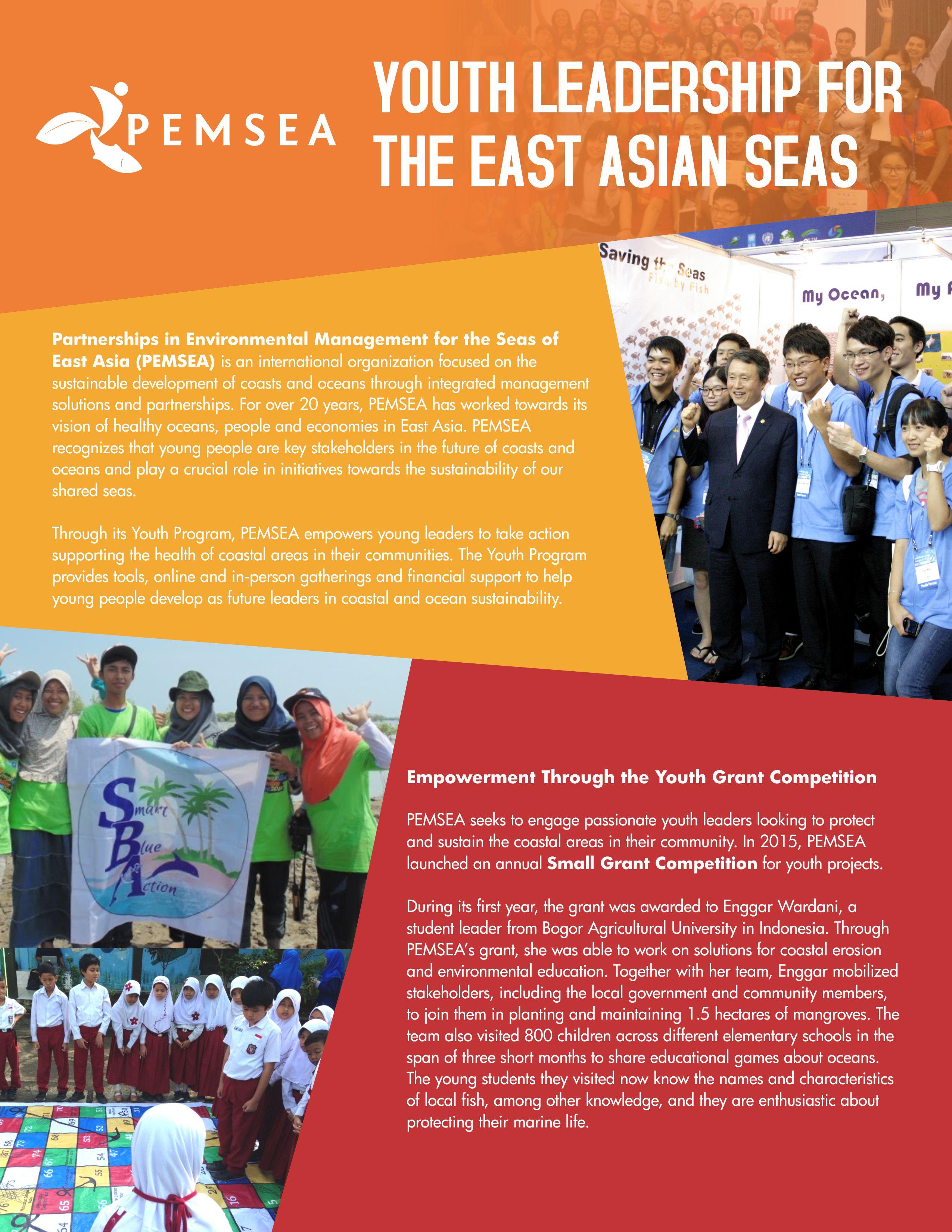 youth program brochure pemsea