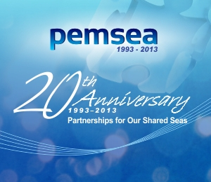 PEMSEA 20th Year Anniversary banner