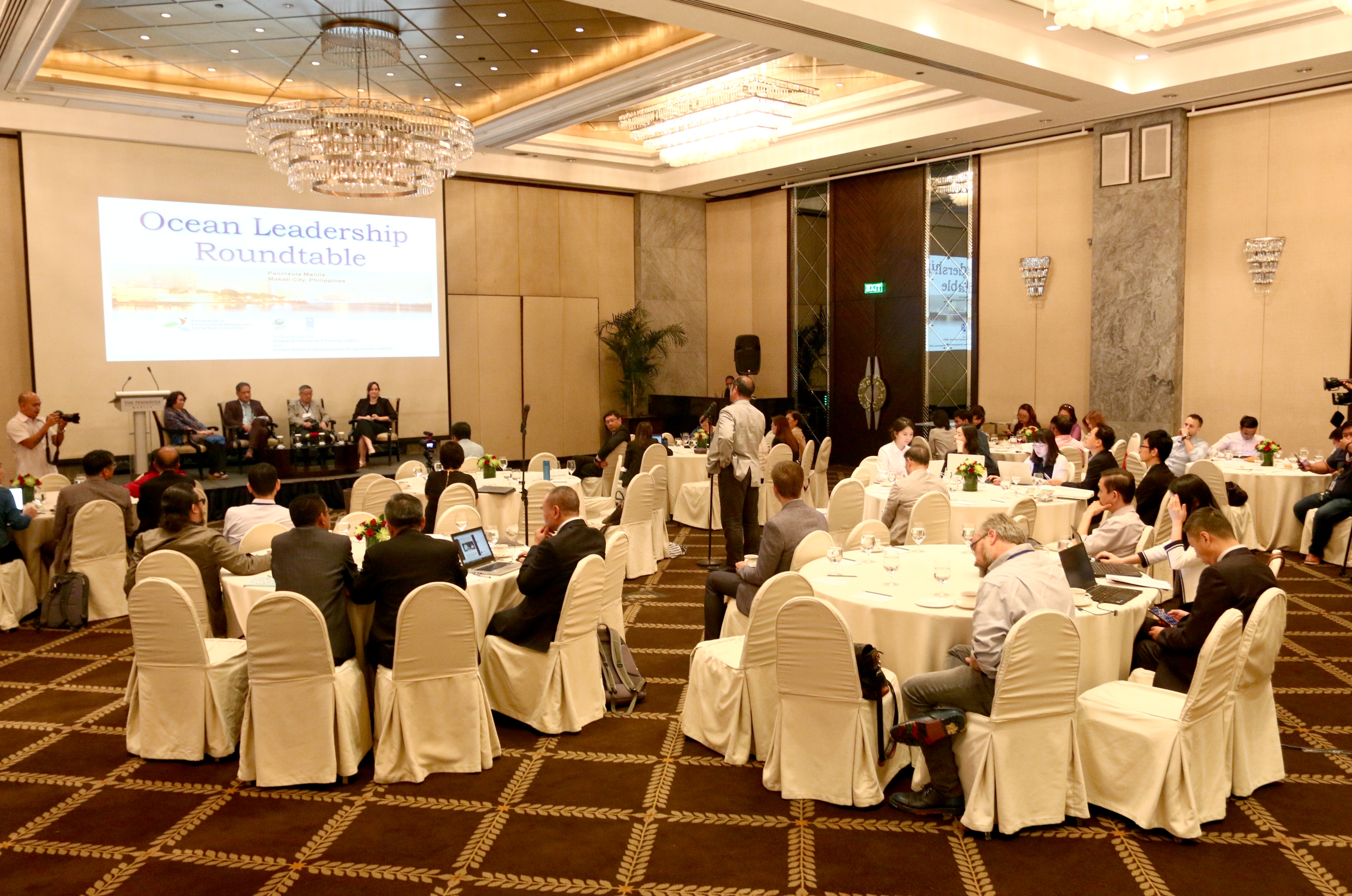 The audience of the Ocean Leadership Roundtable Dialogue