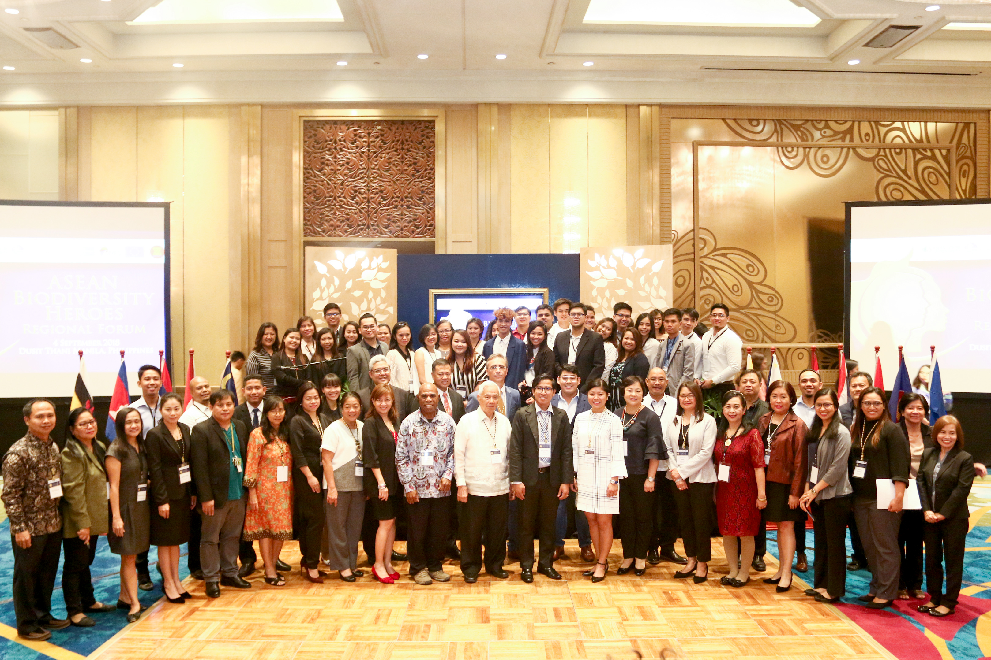 Attendees of the second leg of the ASEAN Biodiversity Heroes Regional Forum