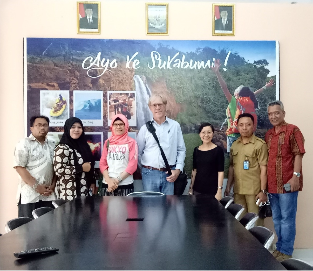 PEMSEA was welcomed by representatives from TP3TP at the Geopark Information Center